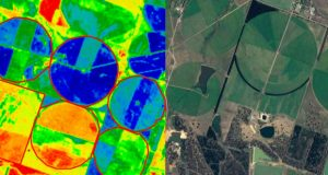 Crop monitoring with a Drone