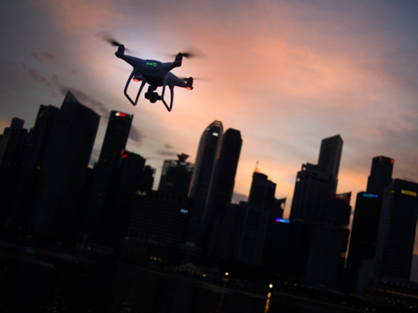 DRONE USE IN PUBLIC SAFETY